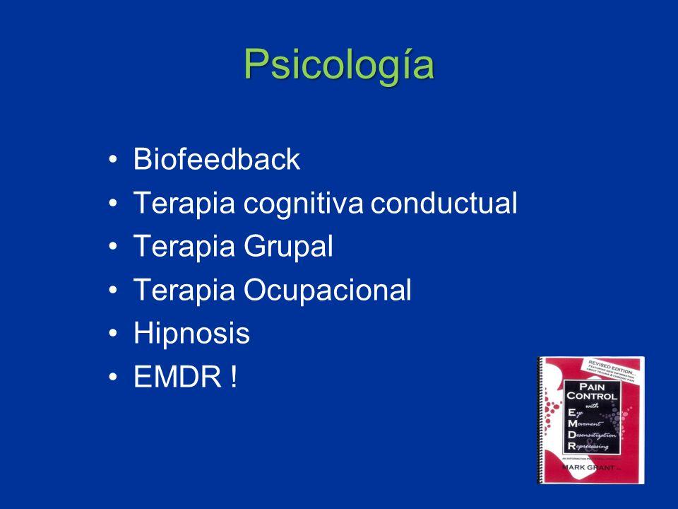 Psicología Biofeedback Terapia cognitiva conductual Terapia Grupal