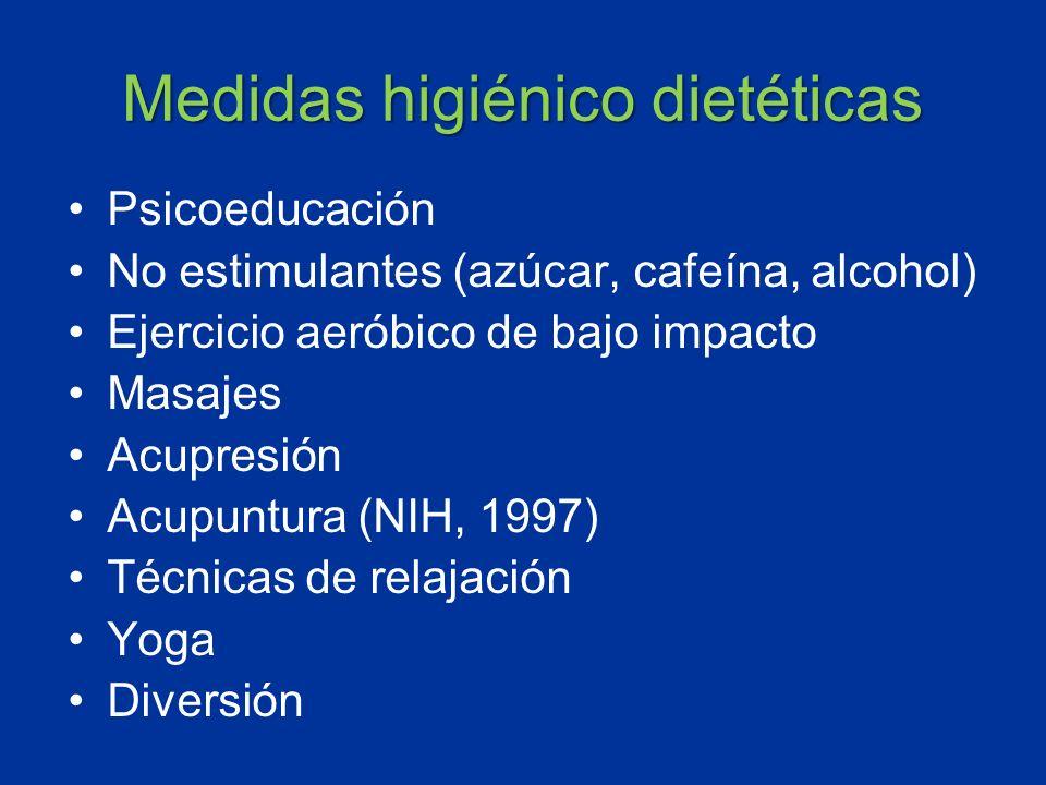 Medidas higiénico dietéticas