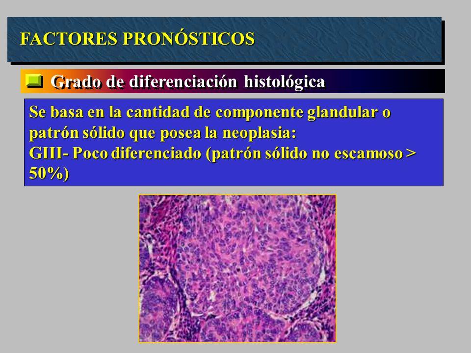 Grado de diferenciación histológica