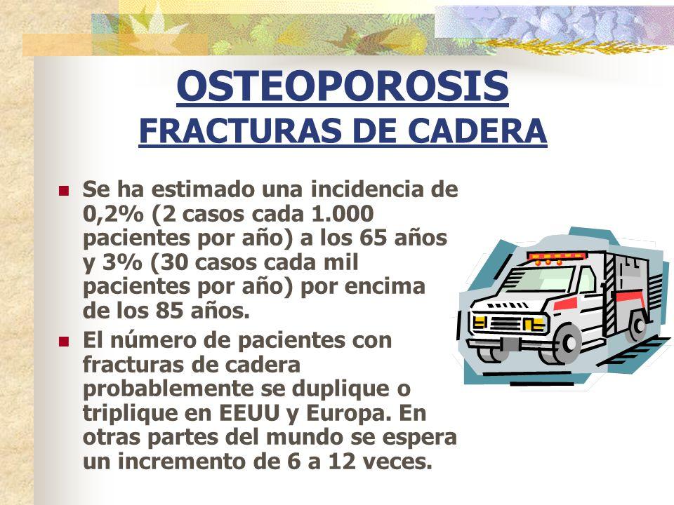 OSTEOPOROSIS FRACTURAS DE CADERA