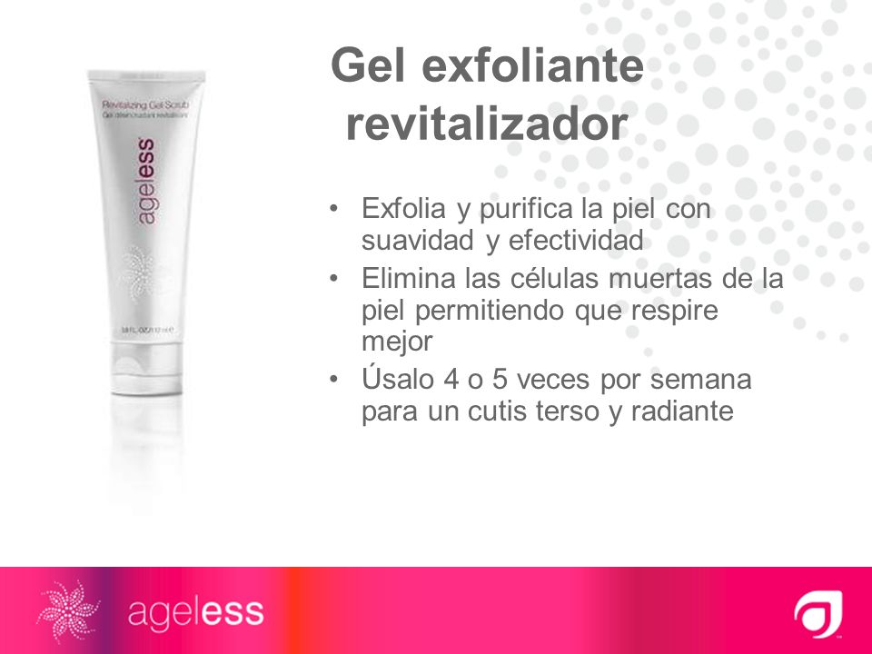 Gel exfoliante revitalizador