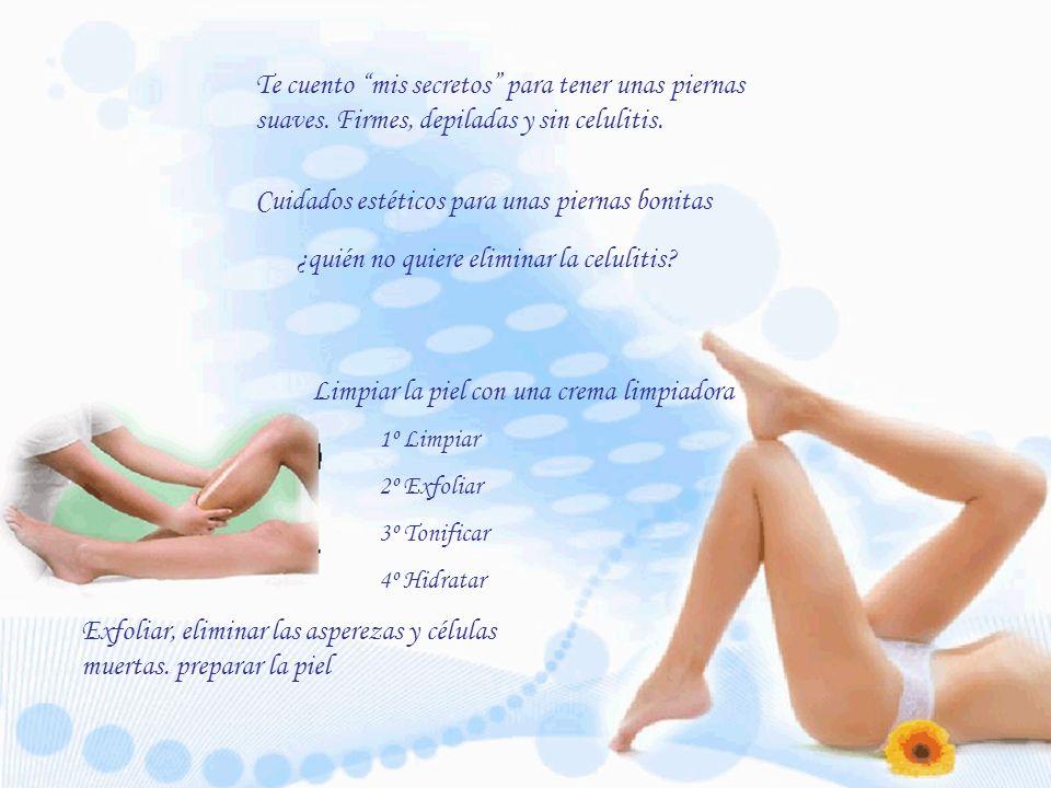 Cuidados estéticos para unas piernas bonitas