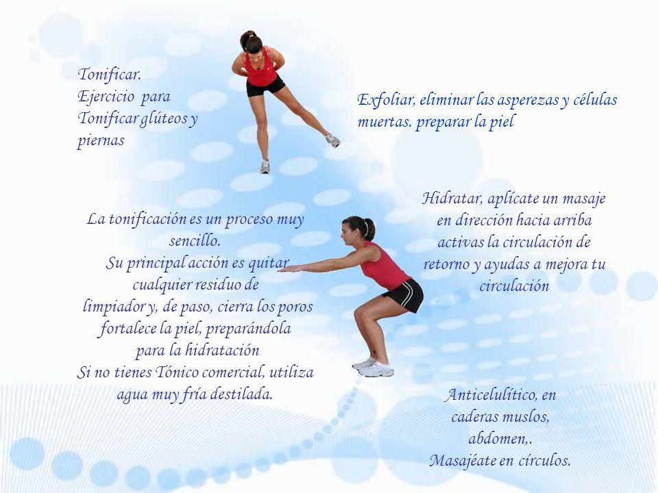 Ejercicio para Tonificar glúteos y piernas