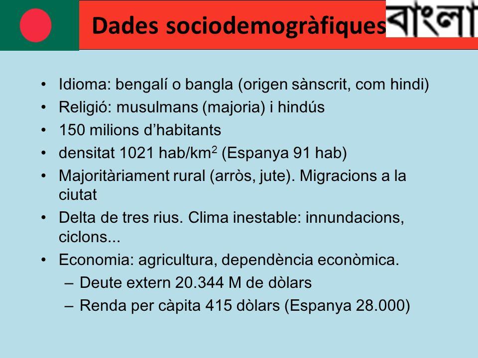 Dades sociodemogràfiques