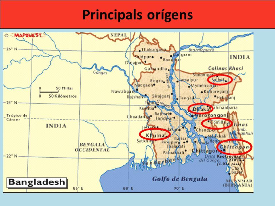 Principals orígens