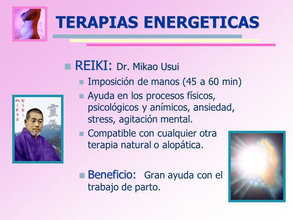 TERAPIAS ENERGETICAS REIKI: Dr. Mikao Usui