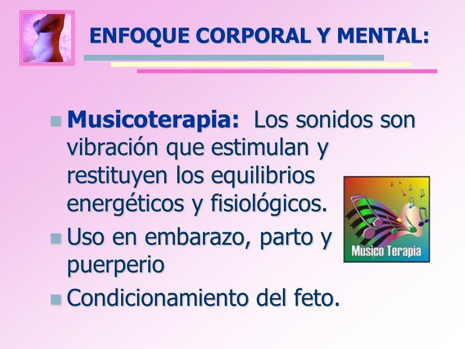 ENFOQUE CORPORAL Y MENTAL: