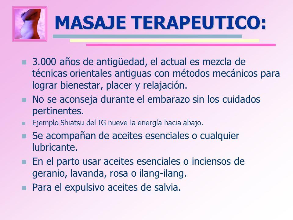 MASAJE TERAPEUTICO:
