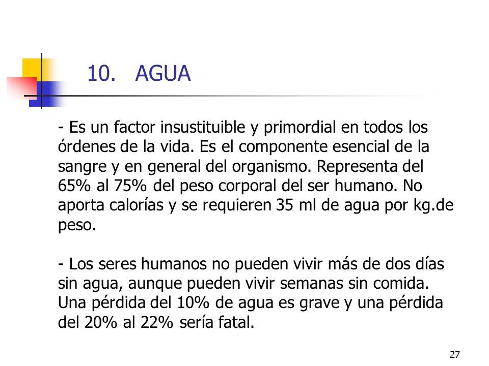 10. AGUA10. AGUA.