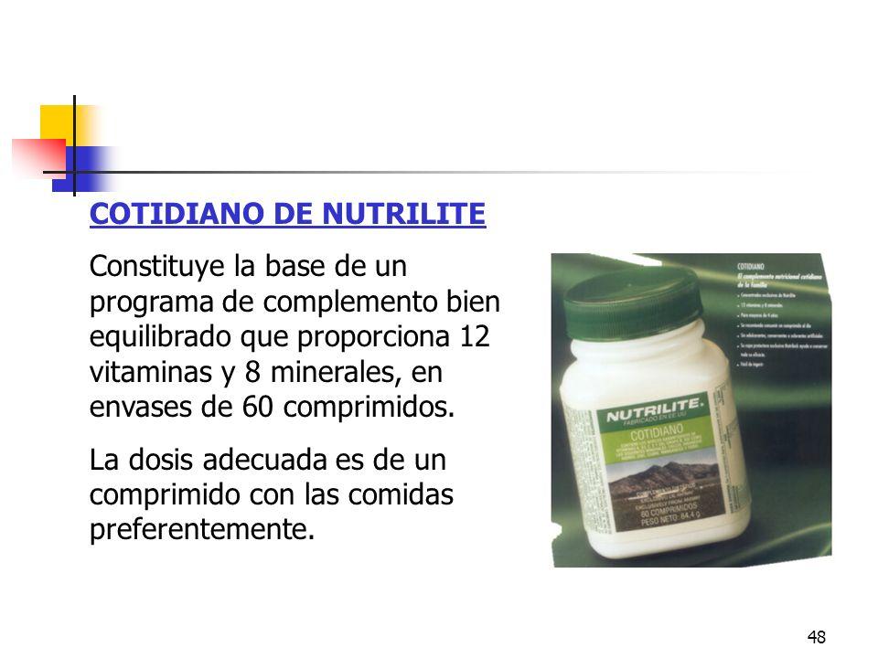Cotidiano COTIDIANO DE NUTRILITE