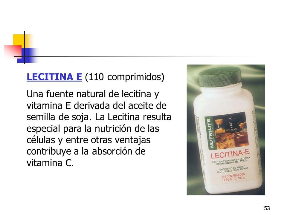 Lecitina E LECITINA E (110 comprimidos)