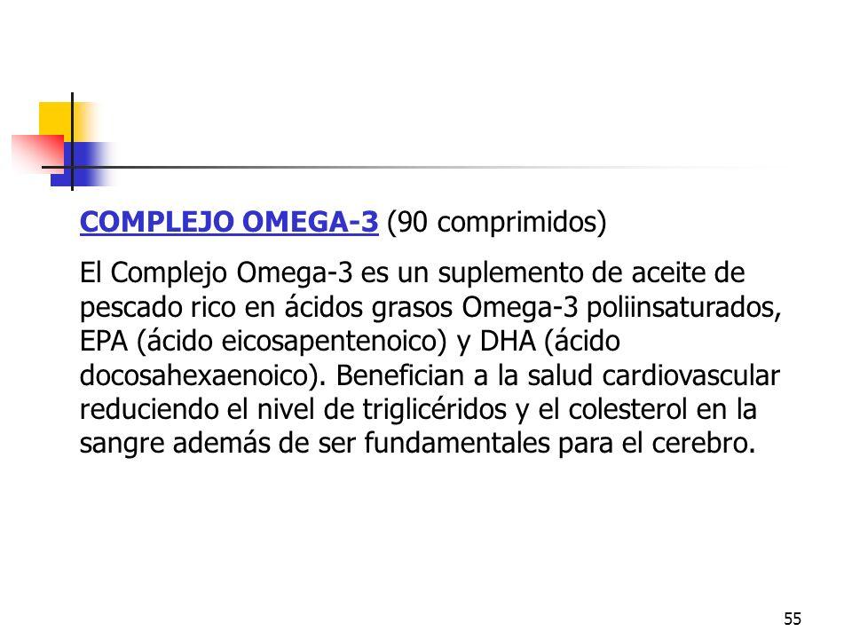 Omega 3 COMPLEJO OMEGA-3 (90 comprimidos)