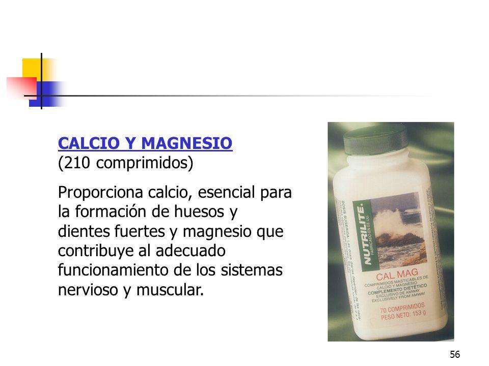 Calcio y Magnesio CALCIO Y MAGNESIO (210 comprimidos)