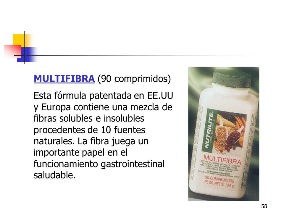 Multifibra MULTIFIBRA (90 comprimidos)