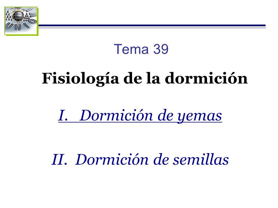 Fisiología de la dormición