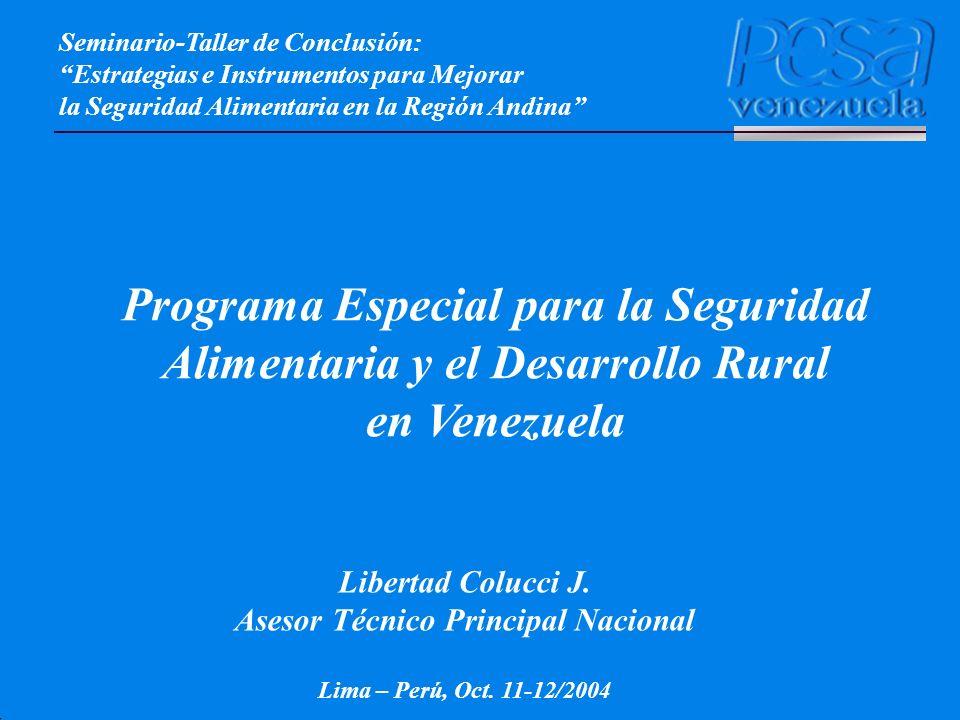 Programa Especial para la Seguridad Alimentaria y el Desarrollo Rural