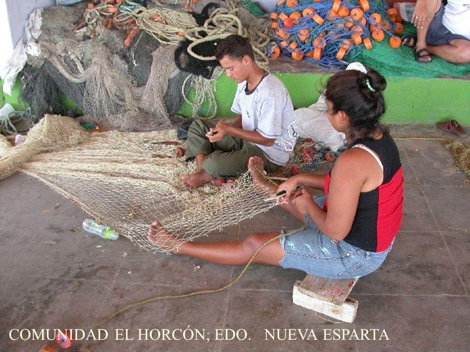 COMUNIDAD EL HORCÓN, EDO. NUEVA ESPARTA
