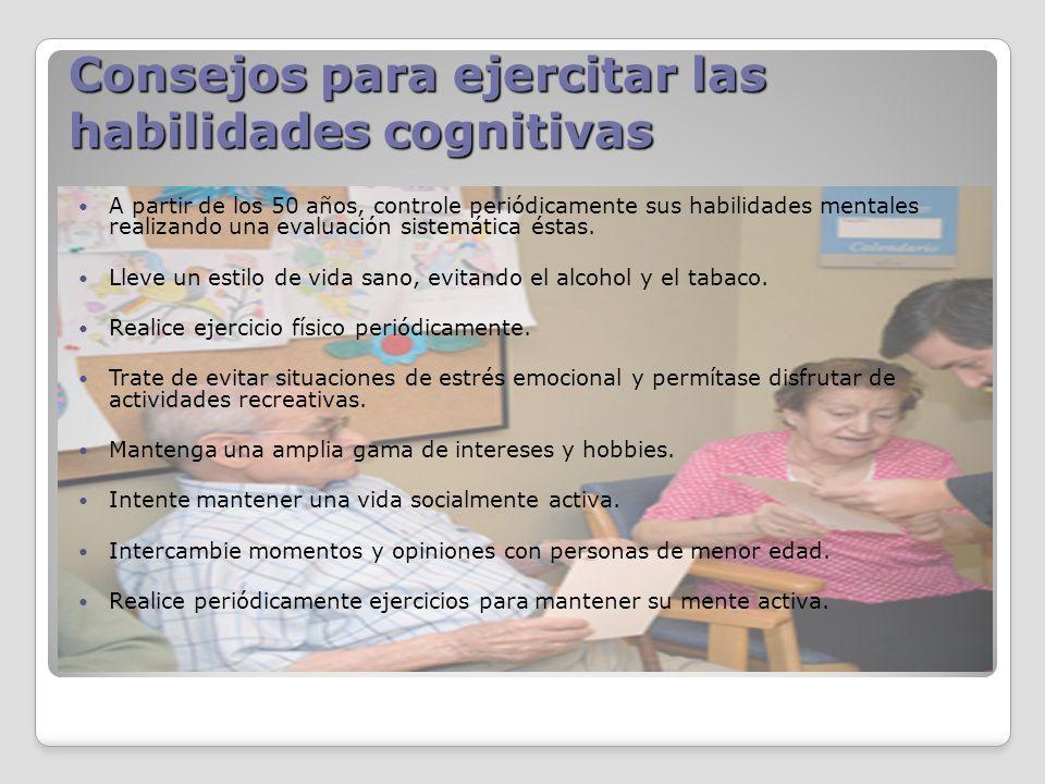 Consejos para ejercitar las habilidades cognitivas