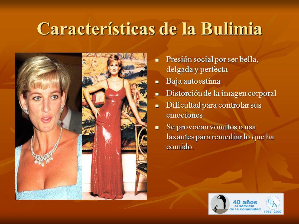 Características de la Bulimia