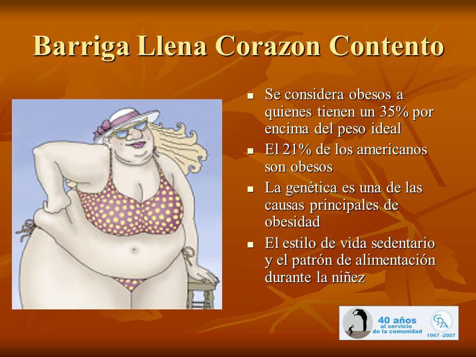 Barriga Llena Corazon Contento