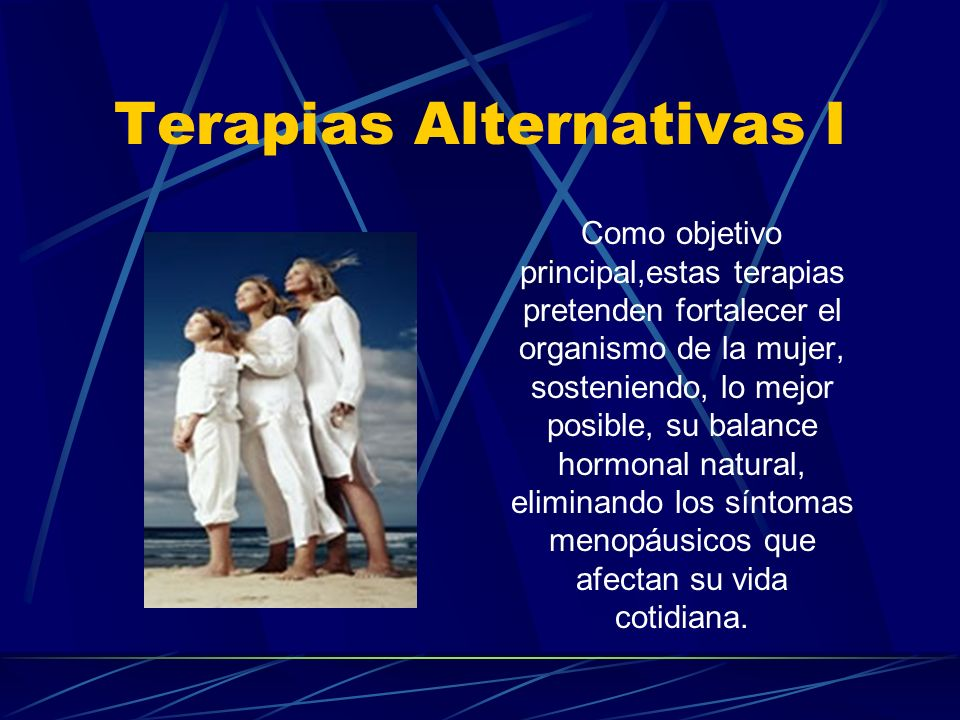 Terapias Alternativas I