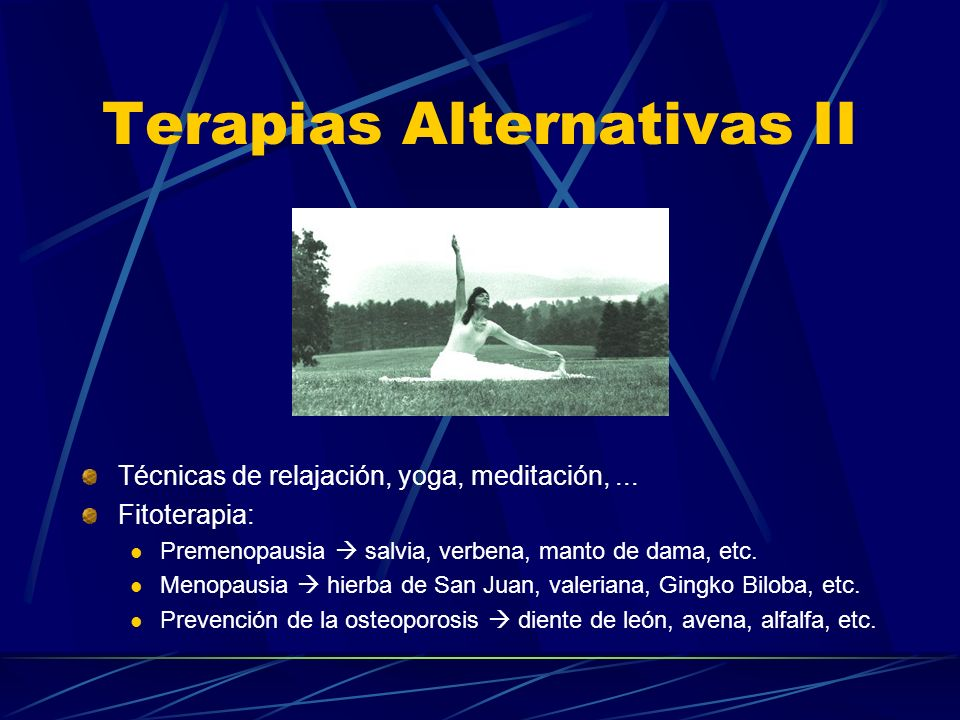 Terapias Alternativas II