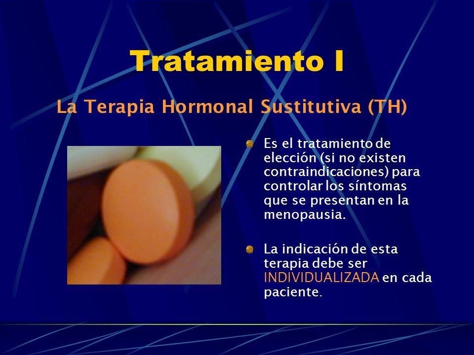 Tratamiento I La Terapia Hormonal Sustitutiva (TH)