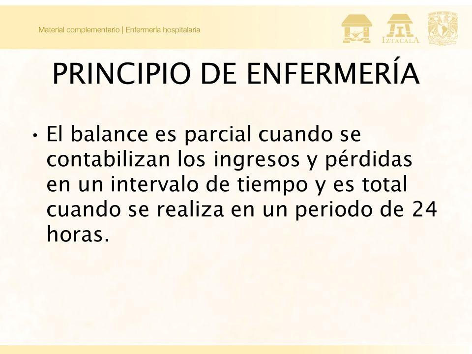 PRINCIPIO DE ENFERMERÍA