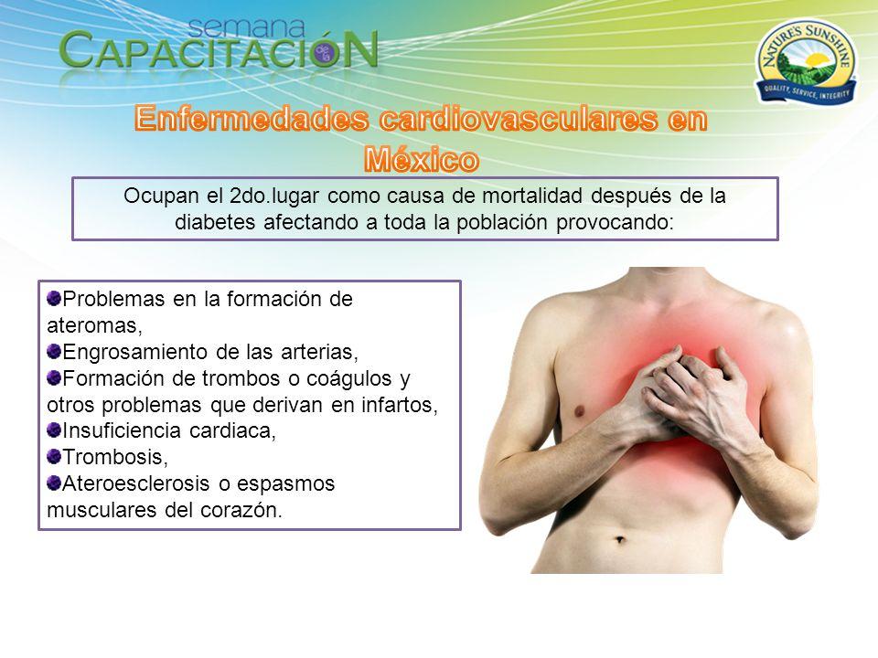 Enfermedades cardiovasculares en México