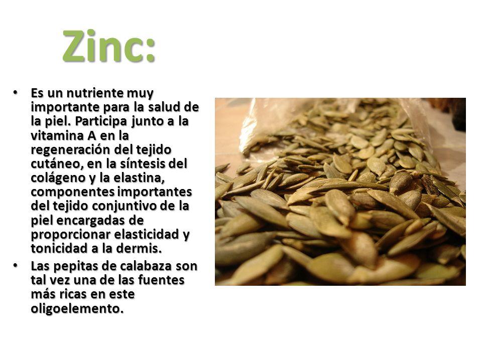 Zinc: