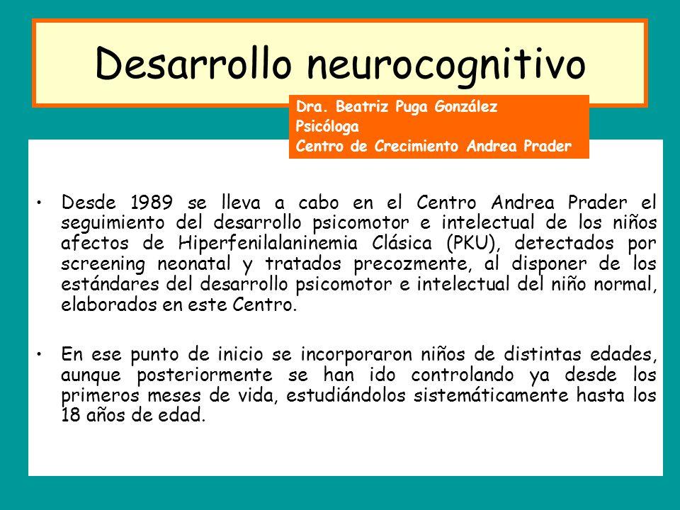 Desarrollo neurocognitivo