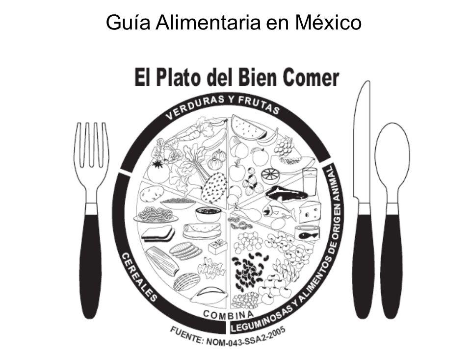 Guía Alimentaria en México