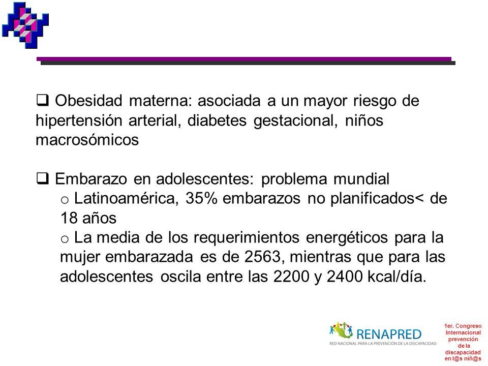 1er. Congreso Internacional prevención de la discapacidad en l@s niñ@s