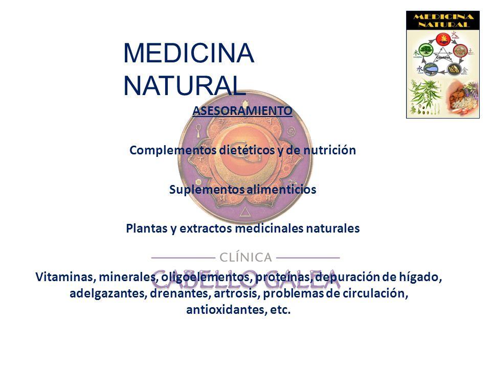 MEDICINA NATURAL ASESORAMIENTO Complementos dietéticos y de nutrición