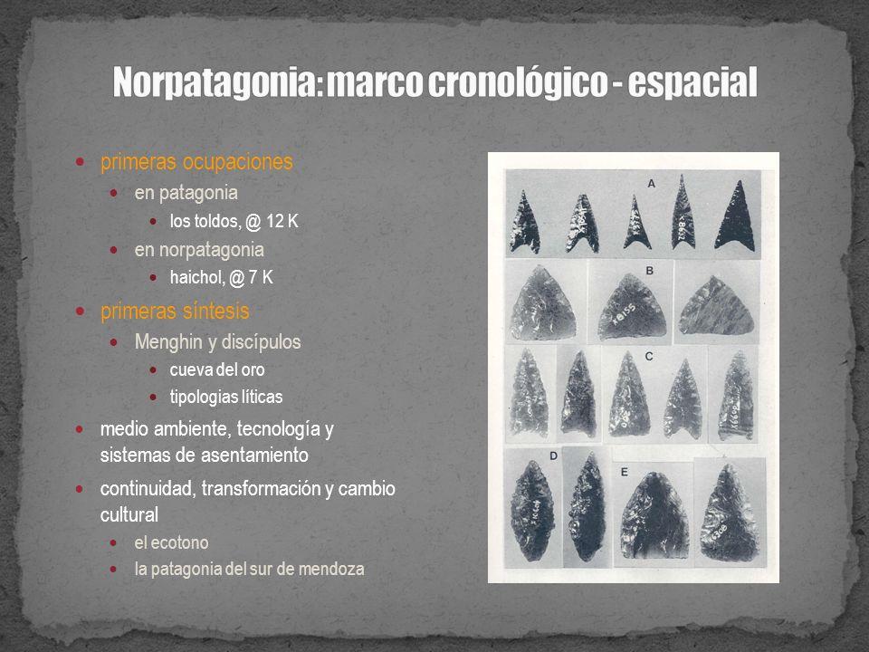 Norpatagonia: marco cronológico - espacial