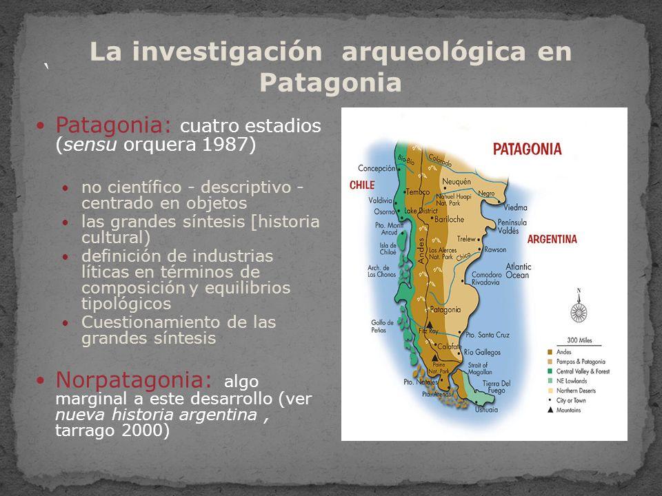 La investigación arqueológica en Patagonia