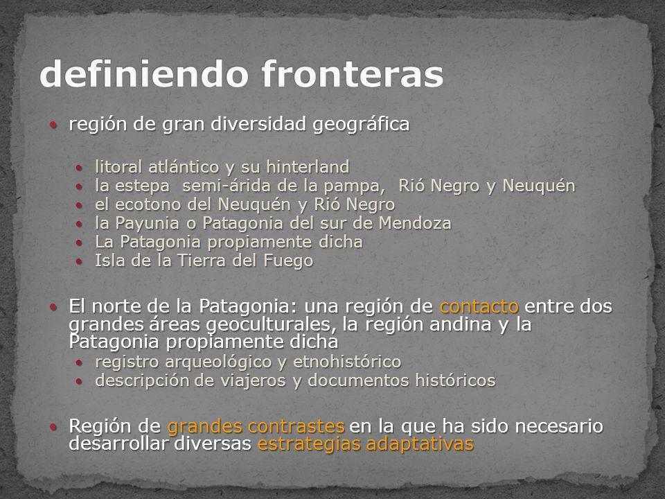 definiendo fronteras región de gran diversidad geográfica