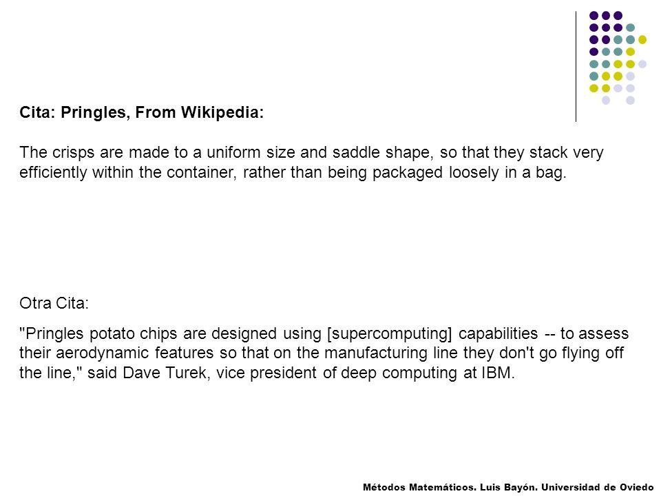 Cita: Pringles, From Wikipedia: