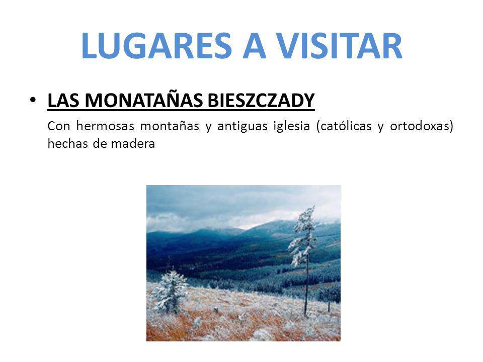 LUGARES A VISITAR LAS MONATAÑAS BIESZCZADY