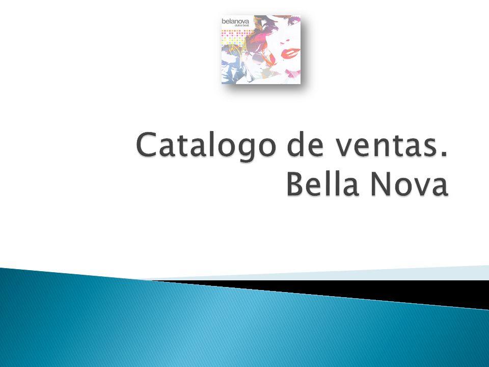 Catalogo de ventas. Bella Nova