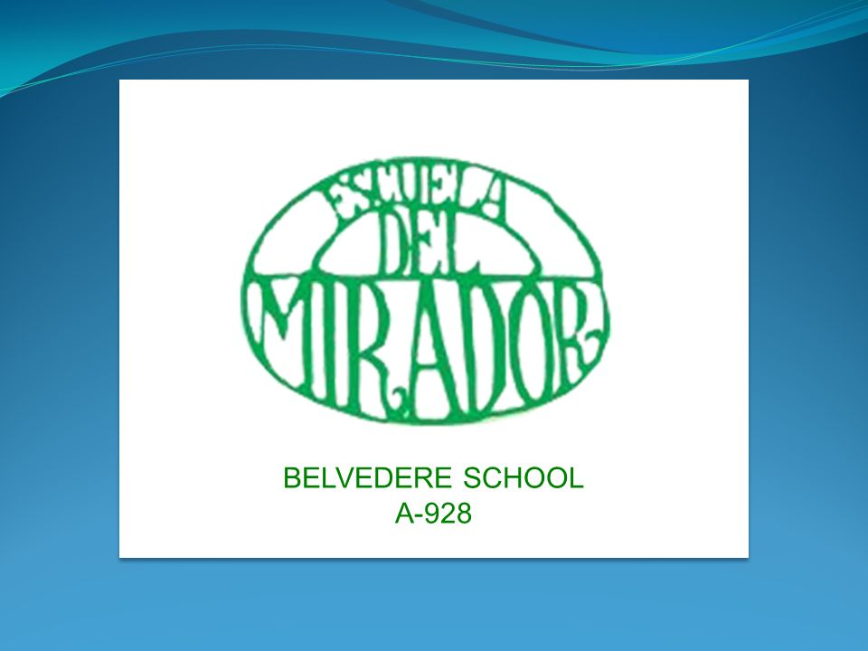 BELVEDERE SCHOOL A-928