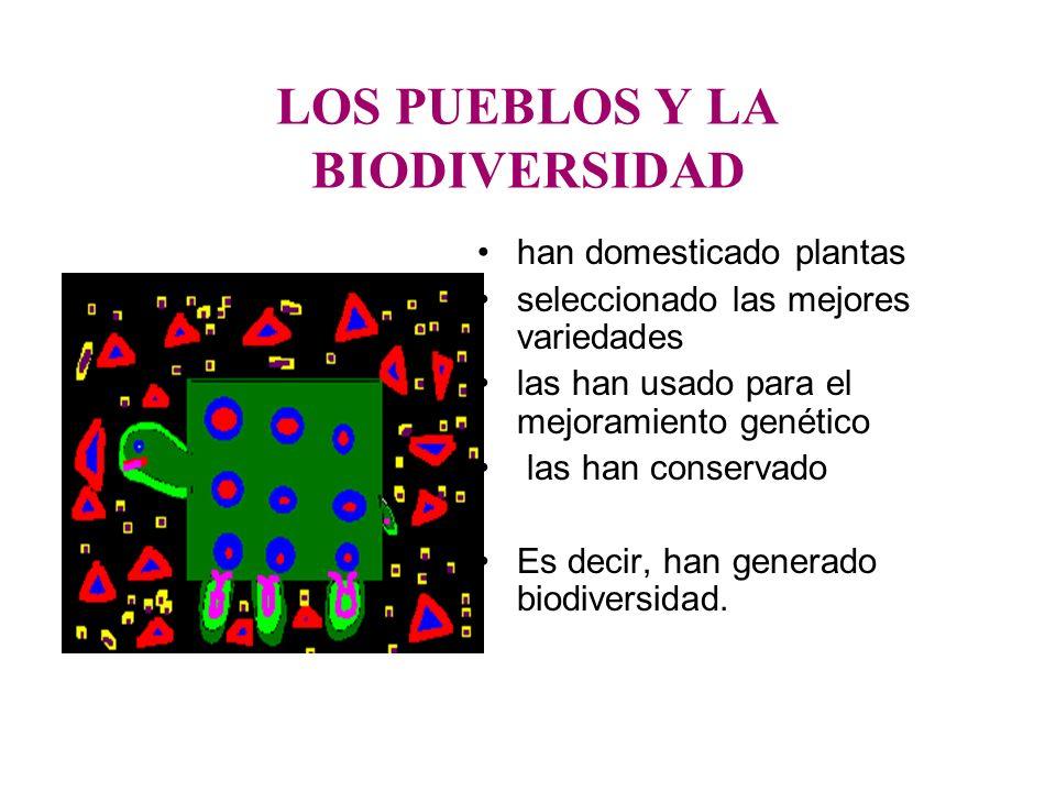 LOS PUEBLOS Y LA BIODIVERSIDAD