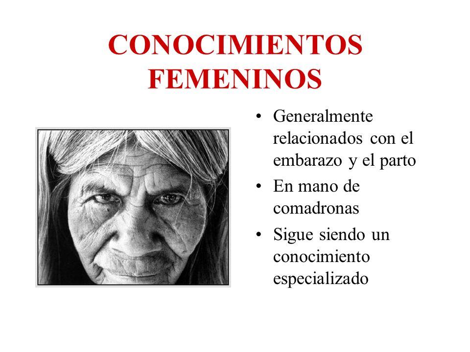 CONOCIMIENTOS FEMENINOS