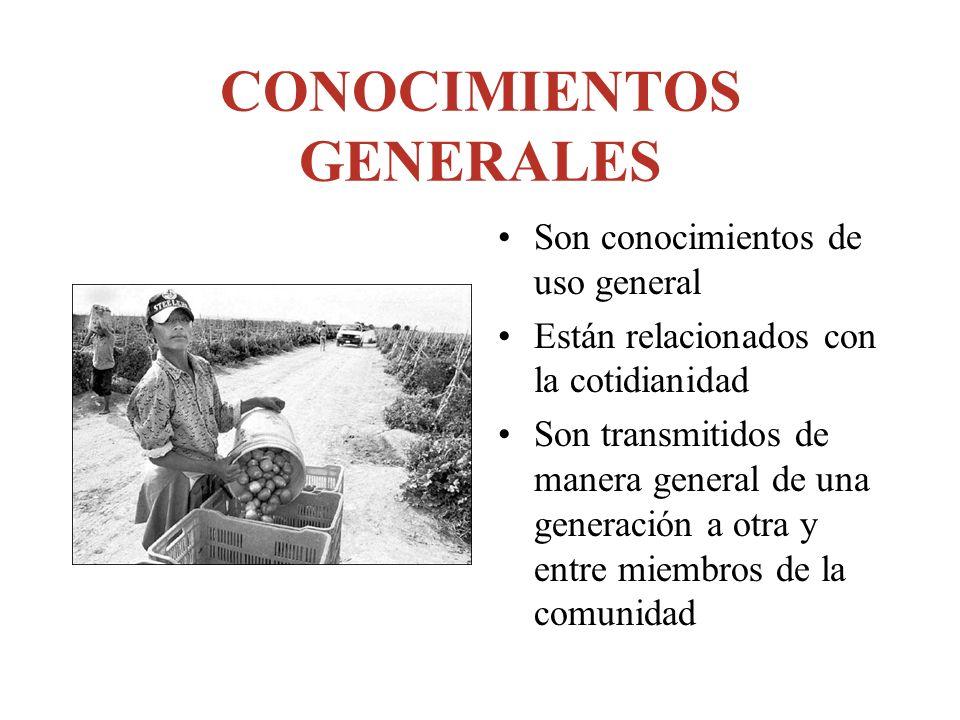 CONOCIMIENTOS GENERALES