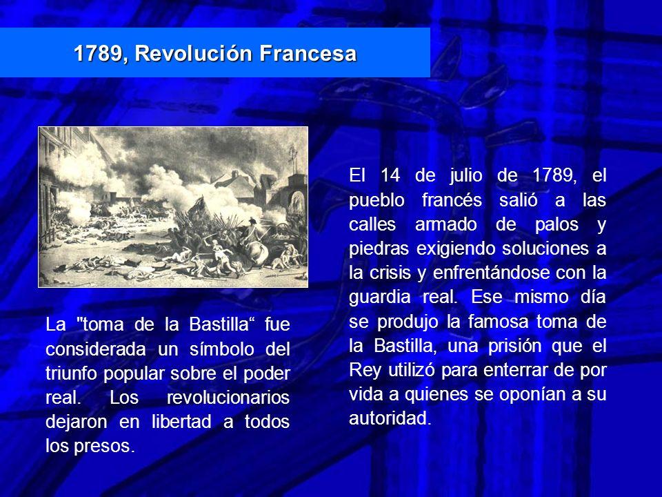 1789, Revolución Francesa