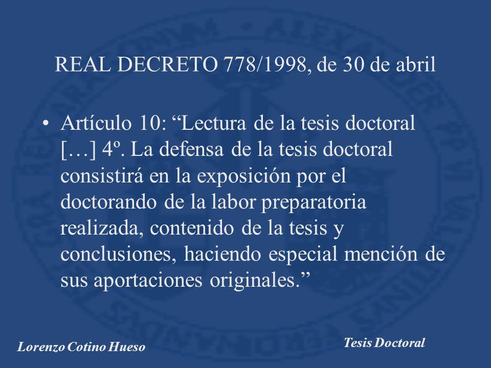 REAL DECRETO 778/1998, de 30 de abril