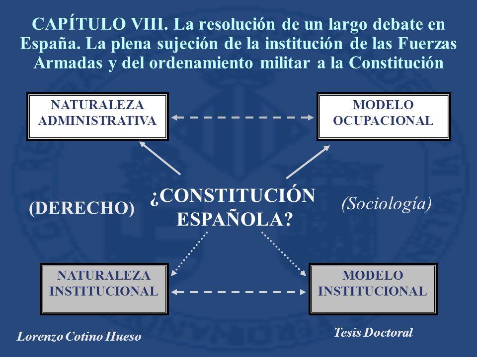 ¿CONSTITUCIÓN ESPAÑOLA