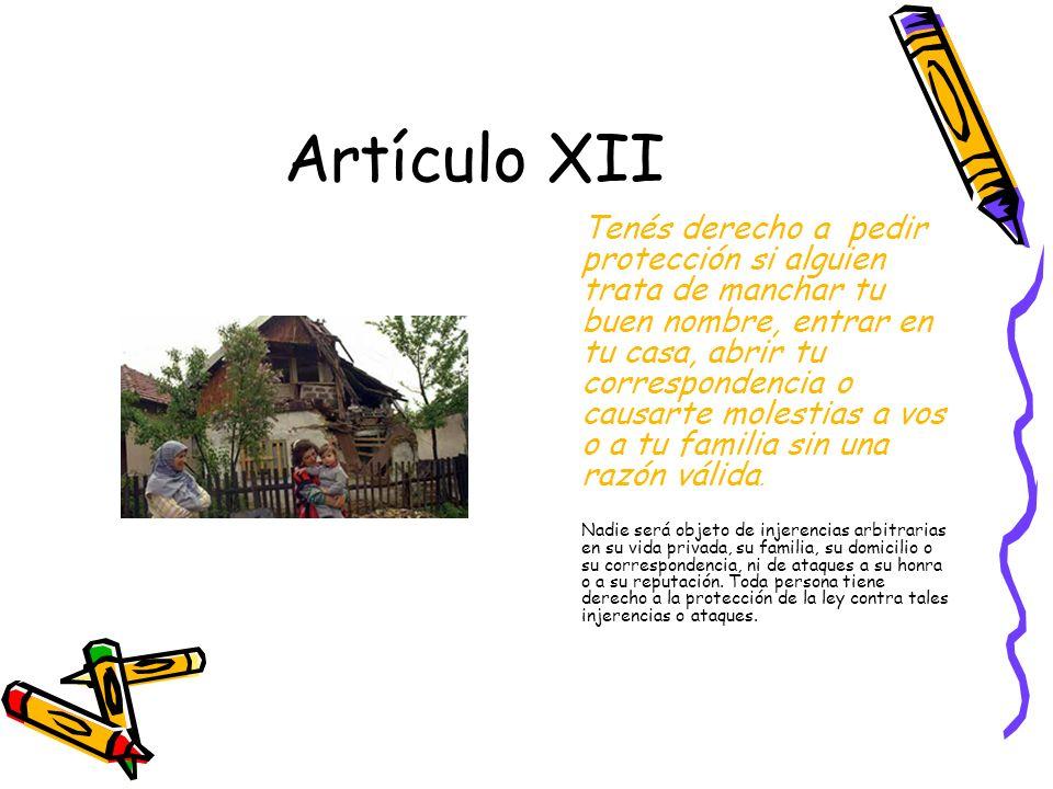 Artículo XII