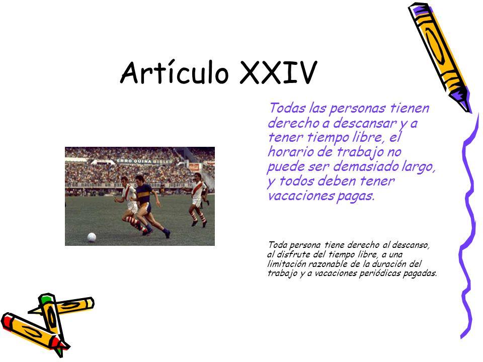 Artículo XXIV