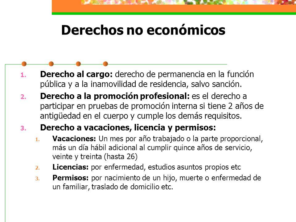 Derechos no económicos